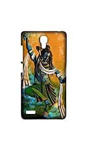 Dancing Lord Shiva Mobile Case/Cover For XIAOMI RED MI NOTE (4G)