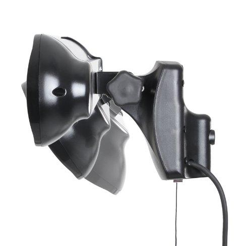 Primrose Firefly 1.500 Watt Infrarot-Heizstrahler (Halogen) Terrassenheizung, Wandmontage, inkl. LED-Beleuchtung und Fernbedienung - 5