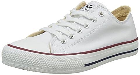 Victoria Zapato Autoclave, Baskets Hautes Femme, Blanc (Blanco), 37