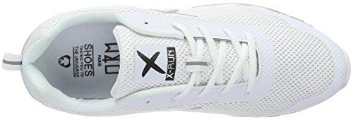 wize & ope Unisex-Erwachsene Xrun Low-Top Weiß (White 1)