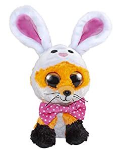 LUMO STARS Easter Fox Funny - Juguetes de Peluche (Animales de Juguete, Multicolor, Felpa, 3 año(s), Niño/niña, Interior y Exterior)