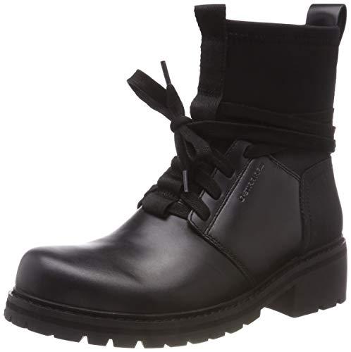 g star schuhe damen G-STAR RAW Damen Deline Sock Boot Stiefeletten, Schwarz (Black 990), 39 EU