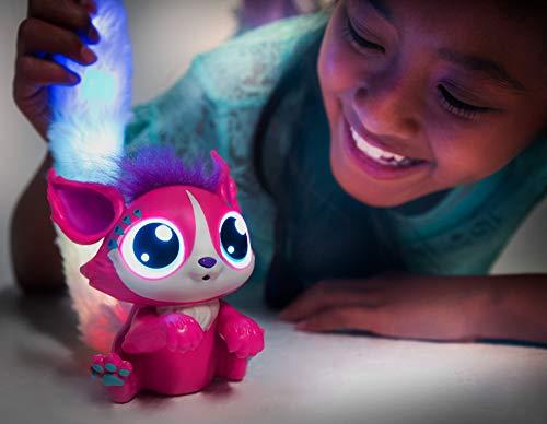Mattel -  Lil  Gleemerz Adorbrite,  Juguete Interactivo Rosa con Luces Y Sonidos para Niños +5 Años (Mattel Gll06)