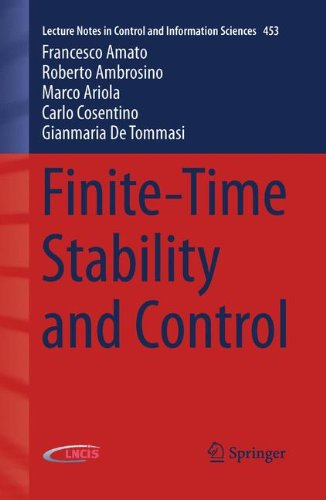 Finite-Time Stability and Control (Lecture Notes in Control and Information Sciences)
