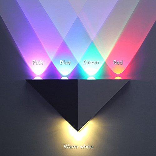 sunixr-5w-colorful-led-wall-lighttriangle-sconce-hall-hallway-lamp-led-decorative-lights-multi-color
