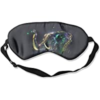 Eye Mask Eyeshade Elephant Artwork Sleeping Mask Blindfold Eyepatch Adjustable Head Strap preisvergleich bei billige-tabletten.eu
