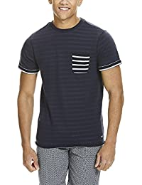Bench Yd Stripe Ss Sweat, T-Shirt Homme