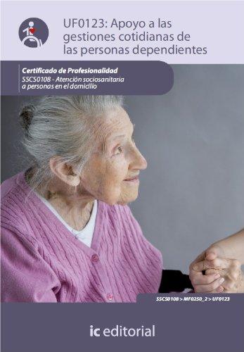Descargar Libro Apoyo en las gestiones cotidianas de las personas dependientes. SSCS0108 de Virginia Moreno García