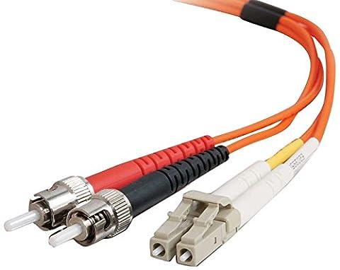 Cables To Go Câble de brassage à fibre monomodale LC/ST