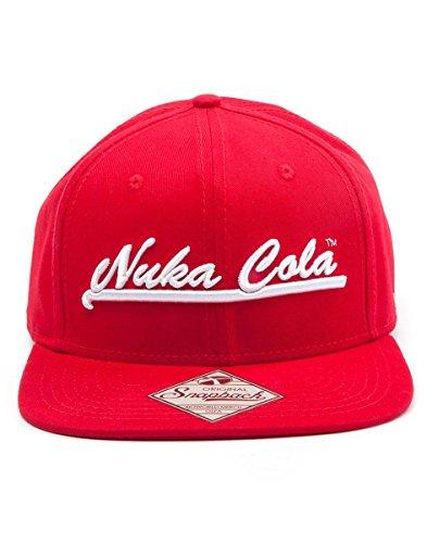 Fallout 4 Cap Nuka Cola Red Snapback Mütze Schirmmütze Kappe