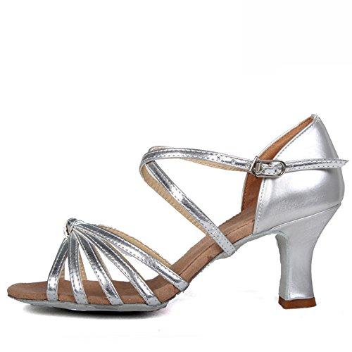 SPLNWTFHCNWPCB Zapatos de Baile Latino Para Los Niños/Zapatos de Los Niños Baile de Plaza/Dancing Lady-F Longitud del Pie=24.3CM(9.6Inch) UGXKq