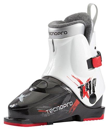 Tecno Pro Kinder Skischuhe T40 Schwarz/Weiss (910) 23