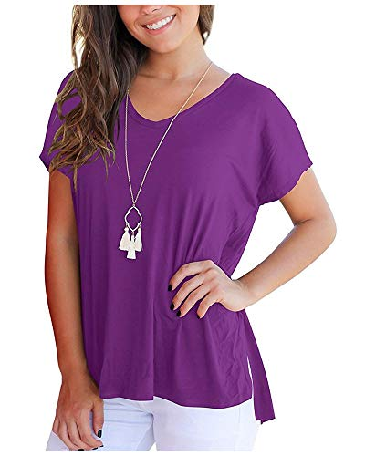4f1c99feb9a Mujer Tops Elegantes Moda Casual Fiesta Único T-Shirt Verano Pin-Up Color  Sólido