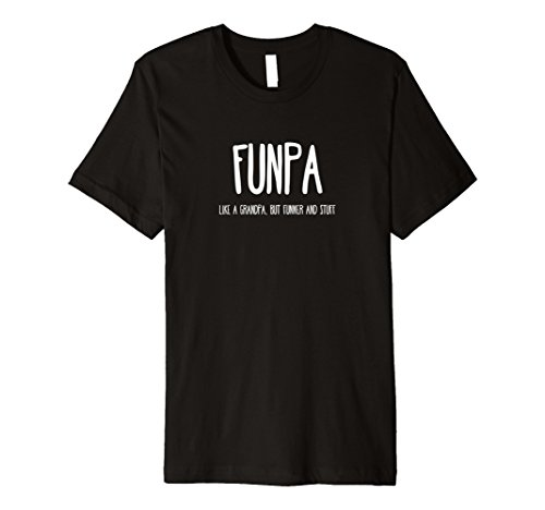 Mens Funny FUNPA Fun Grandpa Novelty T Shirt
