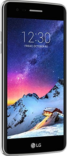 LG Mobile K8 (2017) Smartphone (12,7 cm (5 Zoll) IPS Display, 16 GB  Speicher, Android 7.0) titan