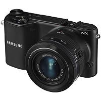 Samsung NX2000 Digital Kamera (20,3 Megapixel CMOS Sensor, 1920 x 1080 Pixel, 9,4 cm (3,7 Zoll) Display, Micro-HDMI, 2x dig. Zoom, USB 2.0) mit 20-50 mm Kit schwarz