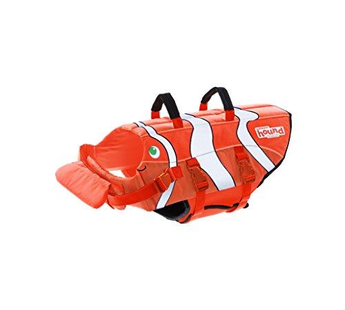 Outward Hound Spaß-Fisch Schwimmweste Hundeschwimmweste, orange