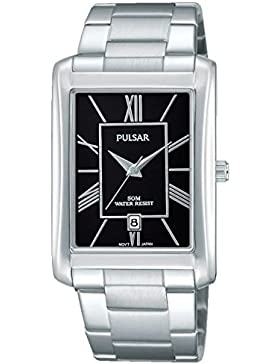 Pulsar Gents Stainless Steel Bracelet Watch