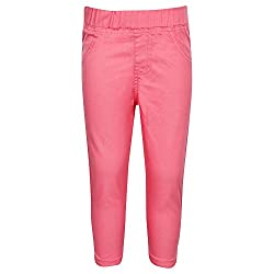 612 League Baby Girls Leggings (ILS17I73005-3 - 6 Months-Pink)