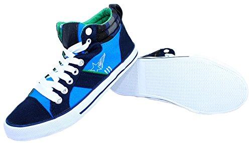 Pepperts Jungen Sneaker Schuhe Blau/Türkis