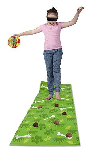 OSSIAN Whoopsee Whoopsee-Spiel - Komplette lustige witzige Neuheit Poo-Dodging Familienspaß-Weihnachtsparty-Gesellschaftsspiel - Passen Sie auf, dass Whoopsie Oopsee Bitte nicht darauf treten
