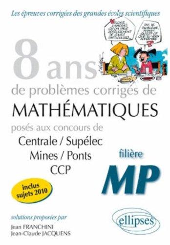 Mathématiques filière MP
