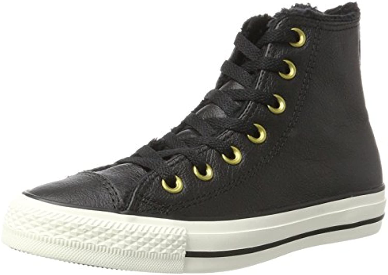 Converse Unisex Erwachsene CTAS Hi Black/Egret Hohe Sneaker