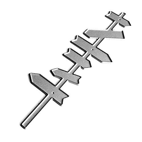anzformen Schablone Scrapbooking Präge Vorlage Handwerk ()