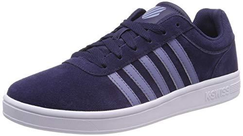 K-Swiss Herren Court CHESWICK SDE Sneaker, Blau (Navy/Stnwsh/Wt 440), 45 EU - Stonewash-schuhe
