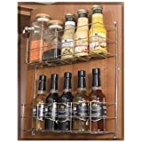 2 TIER DOOR MOUNTED STORAGE RACK