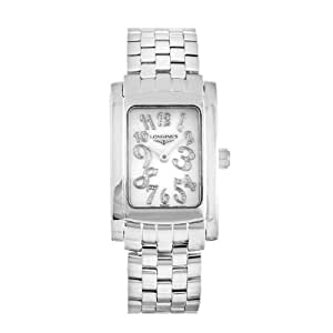 Longines l51554976–Montre pour femmes, bracelet en acier inoxydable couleur argent