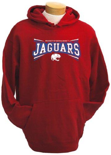 Alabama Sweatshirt (NCAA Herren Kapuzenpullover South Alabama Jaguars Condor, Herren, rot, Medium)