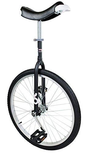 Einrad OnlyOne 24' schwarz Alufelge, Reifen schwarz (1 Stück)