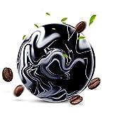 MAyouth Vulkanischer Lehm-Kaffee, der die Seifen-Stab-Haut Whitening Body Clear antibakterielle...