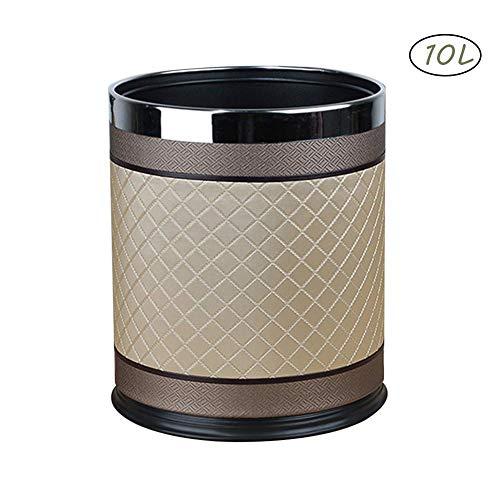 Rangement Et Organisation Couleur : Le Jaune, Taille : 12L Hyzb Main Rotin  Salon Chambre Salle De Bains Toilettes Cuisine Simple Poubelle ...
