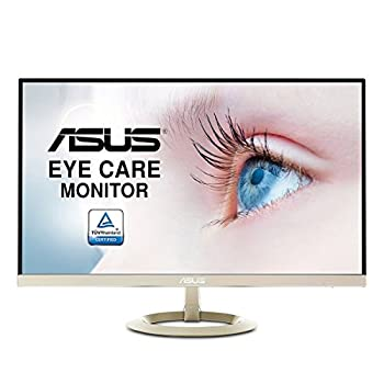 ASUS VZ27AQ 27 Inch Monitor,WQHD (2560 x 1440), IPS, Ultra-Slim Design, DP, HDMI, D-Sub, Flicker Free, Low Blue Light, TUV Certified, Adaptive-Sync