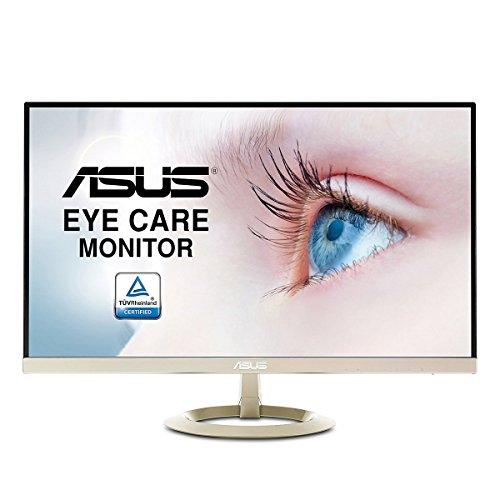 ASUS VZ27AQ 27-Inch Ultra-Slim WQHD 2560 x 1440 IPS Monitor - Silver