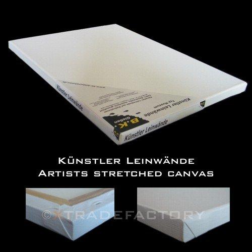 12 LEINWÄNDE AUF KEILRAHMEN 30x30 cm Leinwand (Leinwand X 38 30)