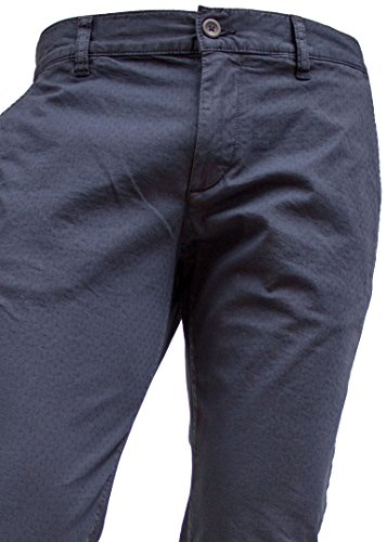 ALBERTO Garment Dyed Chino Hose Modell Lou, Slim Fit navy (dark blue 890)