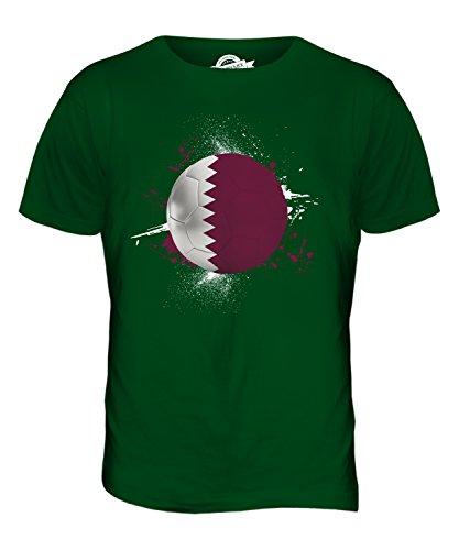 CandyMix Katar Fußball Herren T Shirt Flaschengrün