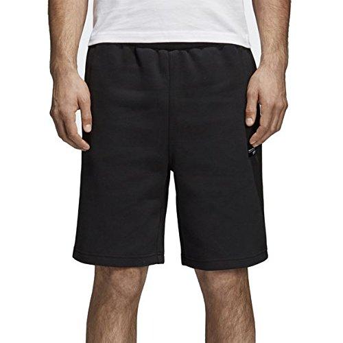 Adidas Shorts Mit Reißverschluss An Der Rückseite (adidas Herren Shorts Essentials 3-Stripes French Terry, Black/White, XL, BK7468)