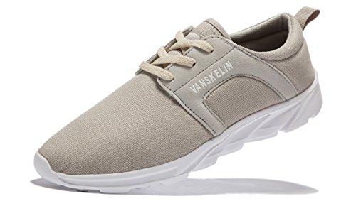 VANSKELIN , Chaussures à lacets homme Gris