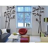 DECOR Kafe Home Decor Bunch Tree Wall Sticker, Wall Sticker For Bedroom, Wall Art, Wall Poster (PVC Vinyl, 119 X 68 CM)