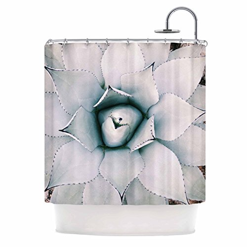 Kess eigene Chelsea Victoria Northern Star grün floral Vorhang für die Dusche, 175,3x 177,8cm (Stars Duschvorhang Wars)