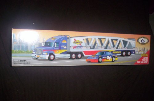 sunoco-1999-car-carrier-truck-trailer-series-6-bonus-race-car-inside-by-sunoco-by-sunoco