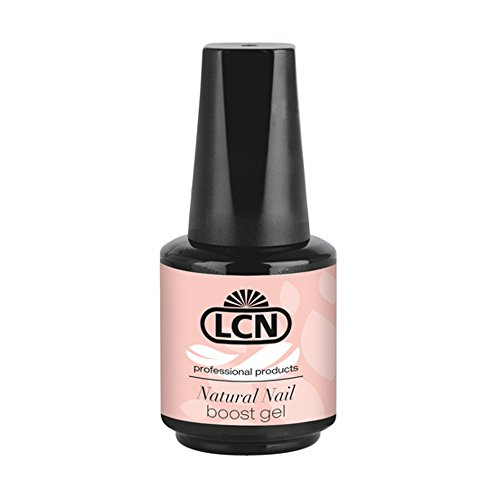 """LCN Natural Nail Boost Gel """"rose charm"""" (rose) 10ml - schützt den Naturnagel und sorgt dafür, dass er schöner, stärker und gleichmäßiger nachwachsen kann"""