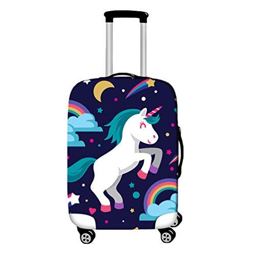 YiiJee Elastique Housse De Valise Luggage cover pour 18-28 Pouce Valise, Protection De Valise Housse Bagage Voyager Protecteur Couverture Comme Image8 M