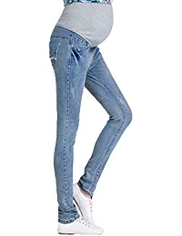 Gagacity Damen Umstandshose Leggings Jeans Schwangerschafts Hose Freizeithose