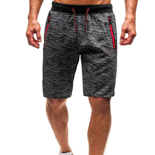 Sport Shorts Herren Sommer Strand Sea Surfen Kurze Hose Boxing Bermuda Running Fitness Gym Lightweight Training Shorts,Qmber Beiläufige lose elastische Hose/DG,3XL Blau Unisex Lightweight Fleece