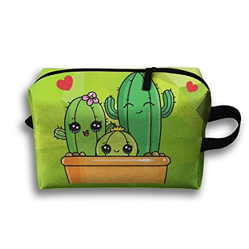 Cactus Baby Small Travel Toiletry Bag Super Light Toiletry Organizer for Overnight Trip Bag Super Stich Mop